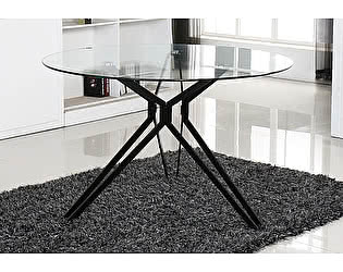 Купить стол M-City VENETO D110 прозрачный