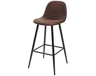 Купить стул M-City Барный стул LION BAR PK-03 коричневый, ткань микрофибра М-City
