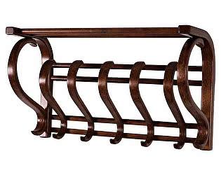 Купить вешалку Мебелик Вешалка настенная В 5Н (Роландо)