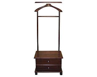 Купить вешалку Мебелик костюмная с ящиками на колесах В 23Н