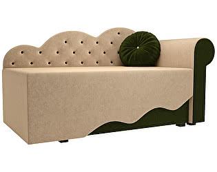 Купить диван Мебелико Тедди-1 микровельвет