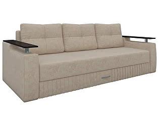 Купить диван Мебелико прямой Лотос микровельвет