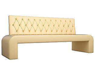 Купить диван Мебелико Кармен Люкс эко кожа прямой