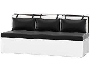 Купить диван Мебелико Метро эко кожа прямой
