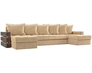 Купить диван Мебелико П-образный Венеция микровельвет
