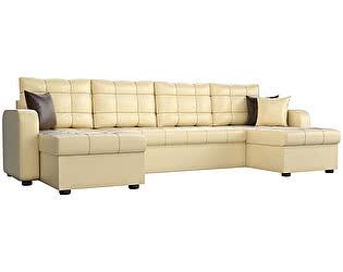 Купить диван Мебелико П-образный Ливерпуль эко кожа