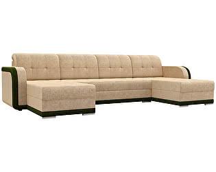 Купить диван Мебелико П-образный Марсель велюр