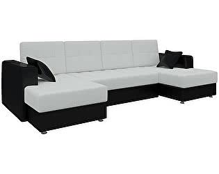 Купить диван Мебелико П-образный Эмир эко кожа
