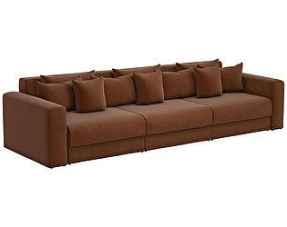 Купить диван Мебелико прямой Мэдисон Long рогожка