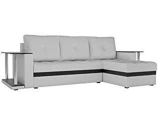 Купить диван Мебелико Угловой диван Атланта М 2 стола эко кожа