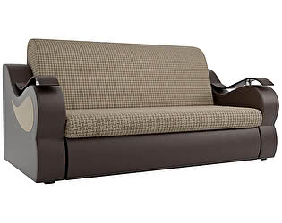 Купить диван Мебелико Меркурий корфу 02 эко кожа коричневый