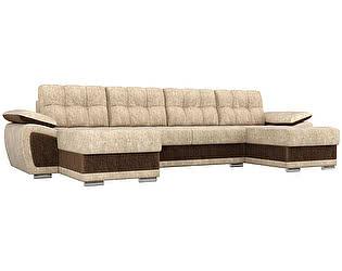 Купить диван Мебелико П-образный Нэстор велюр
