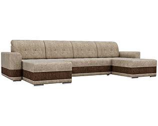 Купить диван Мебелико П-образный Честер велюр