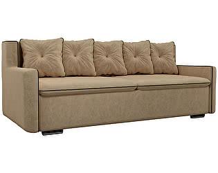 Купить диван Мебелико Прямой диван Витаре микровельвет