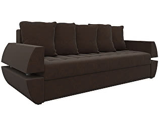 Купить диван Мебелико прямой Атлант Т микровельвет
