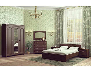 Купить спальню Компасс Элизабет вариант 2