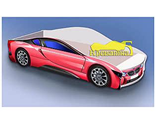 Купить кровать Кроватка5 машина БМВ розовая