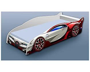 Купить кровать Кроватка5 машина Бугатти красная