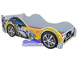Купить кровать Кроватка5 машина желтый дракон