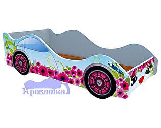 Купить кровать Кроватка5 машина цветочный рай