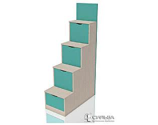 Купить лестницу Сильва Лестница с ящиками Рико НМ 011.64