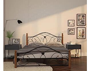 Купить кровать Mebwill Селена 1 Черный - махагон