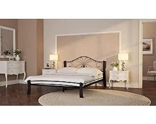 Купить кровать Mebwill Фортуна 4 Лайт Черный - шоколад