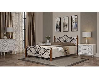 Купить кровать Mebwill Венера 1 Черный - махагон