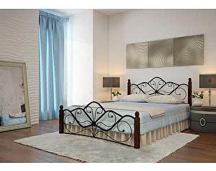 Купить кровать Mebwill Венера 1 Черный - шоколад