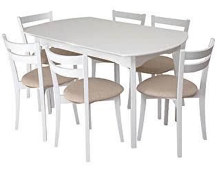 Купить обеденной группой Mebwill Модерн-2 (белый)