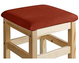 Купить чехол на диван Медежда Чехол на квадратный табурет с подушкой Бирмингем