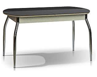Купить стол МегаЭлатон Сиена (стекло) обеденный раздвижной