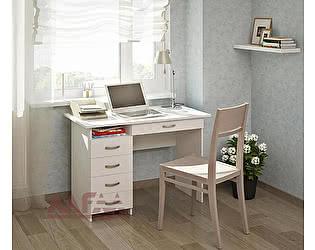 Купить стол МФ Мастер Милан 1 (белый) письменный