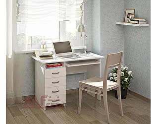 Купить стол МФ Мастер Милан 3 (белый) письменный