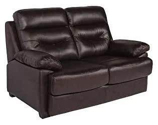 Купить диван МИК Мебель MK-4704-BRL 2-х местный Темно-коричневый