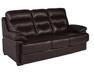 Купить диван МИК Мебель MK-4703-BRL 3-х местный Темно-коричневый
