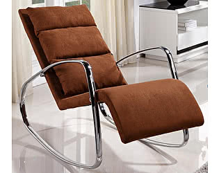 Купить кресло МИК Мебель Кресло-качалка MK-5509-BR Коричневый