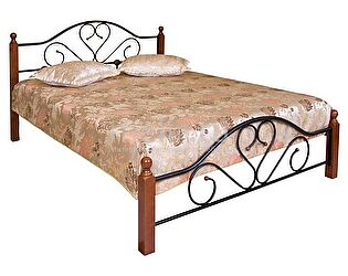 Купить кровать МИК Мебель FD 802 MK-1907-RO Темная вишня 200х120