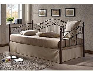 Купить кровать МИК Мебель Melis MK-5234-RO Темная вишня 200х90