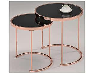 Купить стол МИК Мебель Набор из 2-х столиков MK-2376-RG Розовое золото