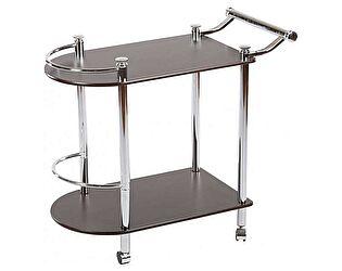 Купить стол МИК Мебель Сервировочный VT-S-02 MK-2315 Темный орех