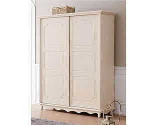 Купить шкаф МИК Мебель купе 2-х дверный Emilia Слоновая кость