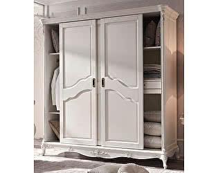 Купить шкаф МИК Мебель Шкаф-купе Shantal MK-5095-WG Белый с золотом