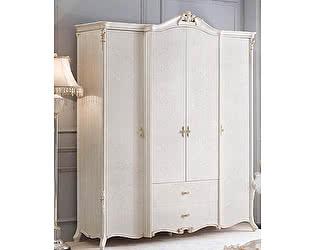 Купить шкаф МИК Мебель Maris (4 дв.) MK-5406-BO Беленый дуб