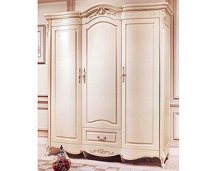 Купить шкаф МИК Мебель Милано 8803-B (3 дв.) MK-1835-IV Слоновая кость
