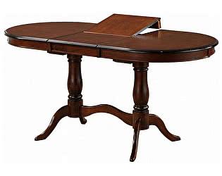 Купить стол МИК Мебель Eva EV-T4EX MK-1238-TB Темный орех