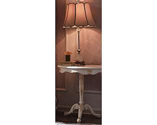 Купить стол МИК Мебель чайный Shantal MK-5096-WG Белый с золотом