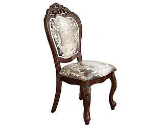 Купить стул МИК Мебель Стул 809 MK-1335-DBB Темная вишня/бежево-голубая