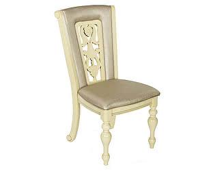 Купить стул МИК Мебель Стул Lusa MK-4510-IV Слоновая кость с темной патиной/Бежевый