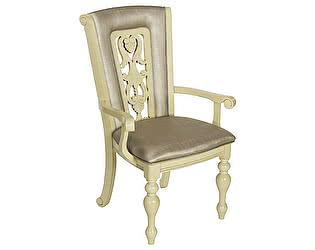 Купить кресло МИК Мебель Стул Lusa MK-4520-IV Слоновая кость с темной патиной